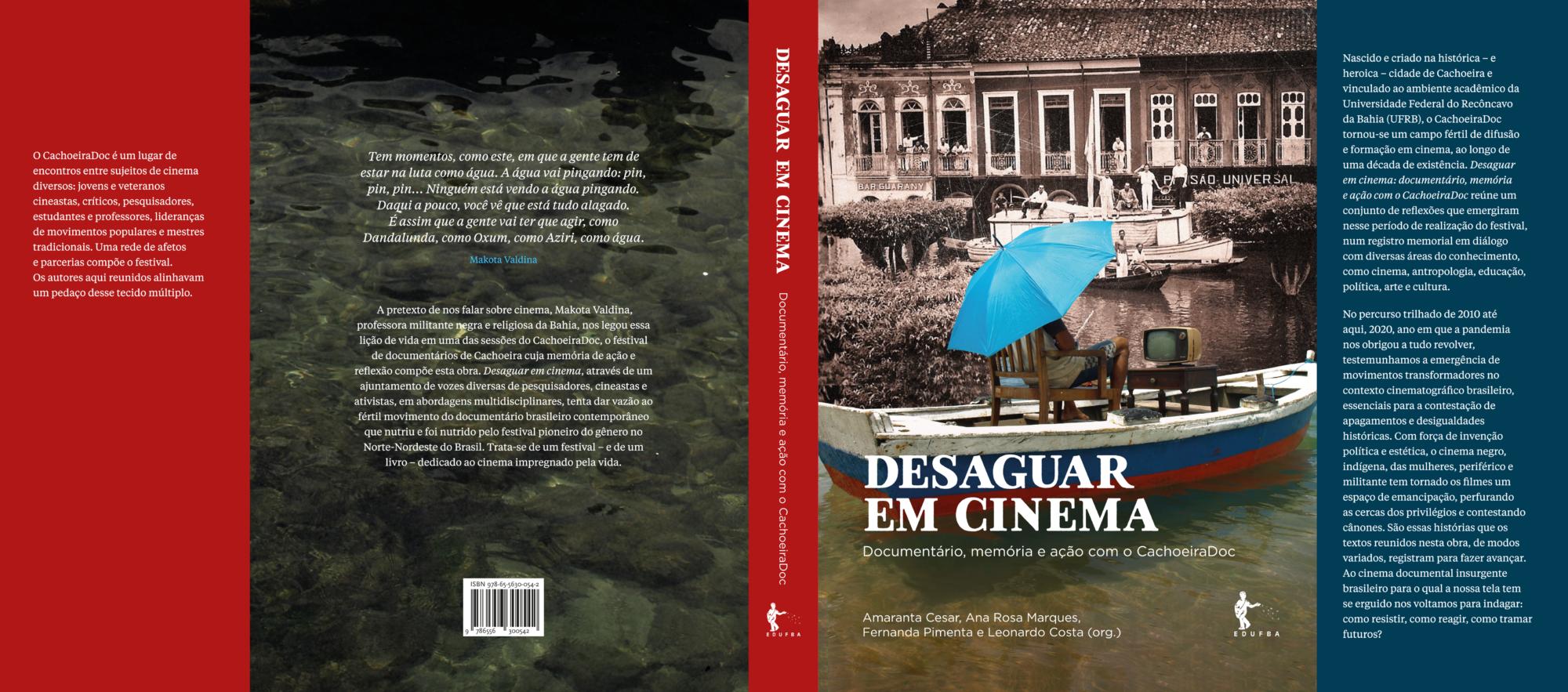 CachoeiraDoc lançará livro em dois encontros online